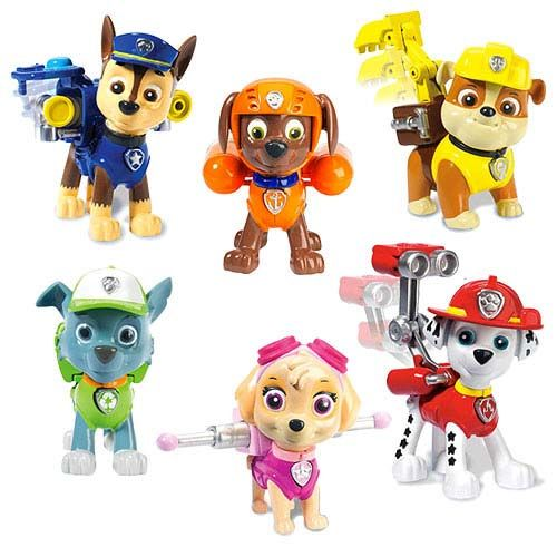 Paw Patrol Pup With Transforming Backpack Case Paw Patrol Pups Paw Patrol Action Figures Paw Patrol