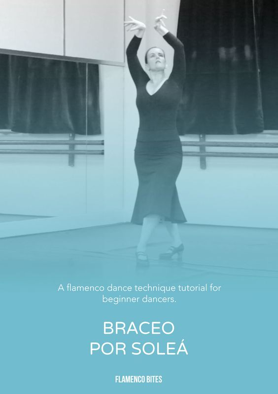 Learn a great exercise for braceo (flamenco arm movement) using the compas of solea.