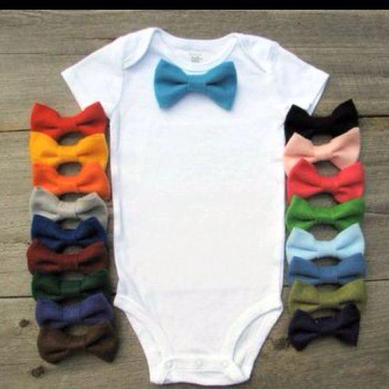 Bow tie onesie