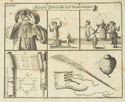 Paul Christian Kirchner. Jüdisches Ceremoniel. (1724)
