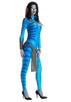 Rubies Neytiri Adult Costumes Contains Jumpsuit with attached tail, apron and gauntlet