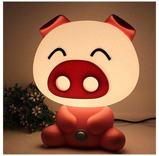 Red Night Light Baby