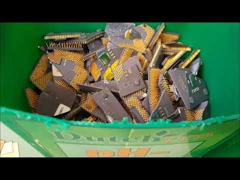 Como Recuperar Oro De 3kg De Procesadores Ceramicos Parte 1 Youtube Oro Youtube