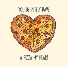 pizza my heart valentine's day