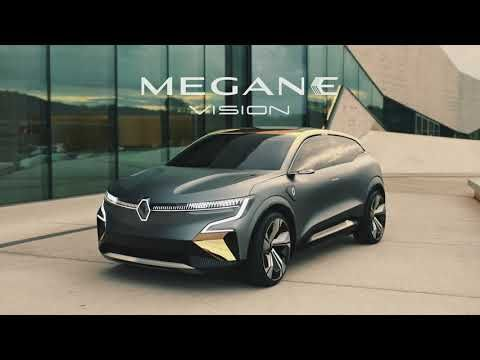 The Renault Mégane Evision The Future Of Electric Car Groupe Renault Youtube Renault Megane Electric Car Renault