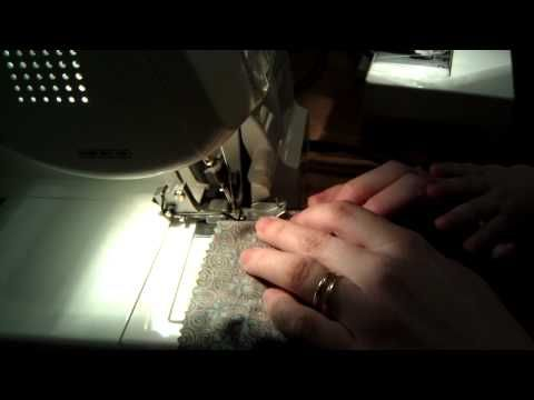 video tutorial on how to secure serger tails!