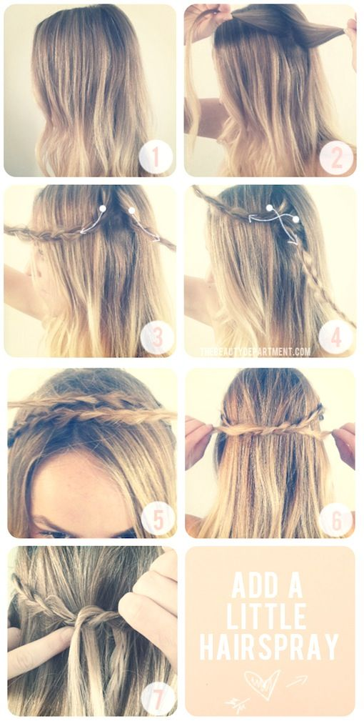 *bellaMUMMA {life is beauty-full}: copy-cat hair: CROWN OF BRAIDS