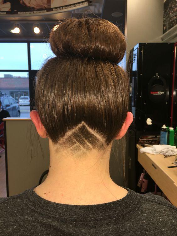 Undercut. Shaved design.  #SportClips #SportClipsBangor