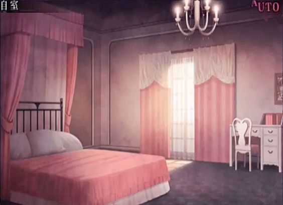 Room background anime background anime scenery visual for Scenery wallpaper for bedroom
