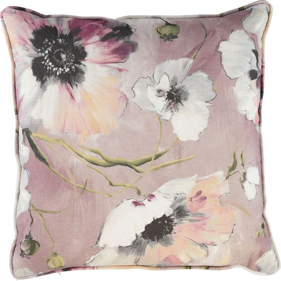 Floral Cushion 51x51cm - Living Room - Home - TK Maxx