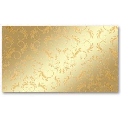 311 Ciao Bella Dourado Divino Rosa ajuste de lugar cartões de visita