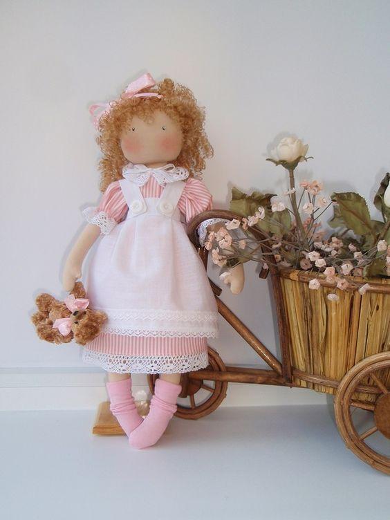 кукла из ткани.....(prettiness in pinkyness!)...