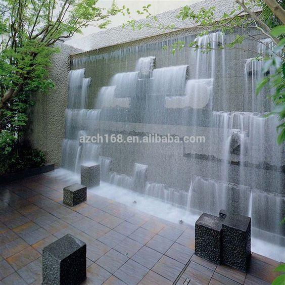 Cascadas para jardin buscar con google fuentes - Fuentes de cascada ...
