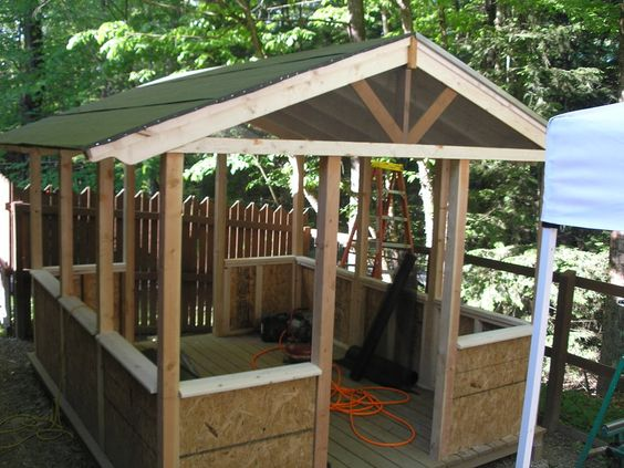 simple screen house Google Search Glamping Pinterest