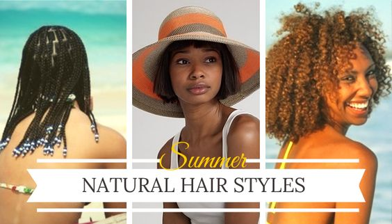 """George Gershwin wrote in the classic song Summertime, """"Summertime, and the livin' is easy."""" Summer is also the time for carefree and effortless hair. In this blog I will share three easy-livin summertime options for natural hair."""