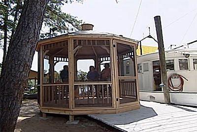 Free Plans to Help You Build a Wooden Gazebo: Building a Gazebo from a Kit Plan…