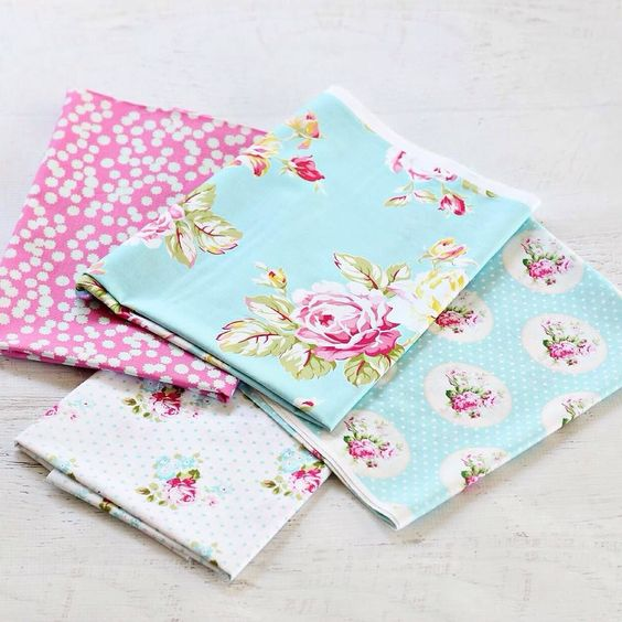 These pretties for Spring  available in fq or by the metre