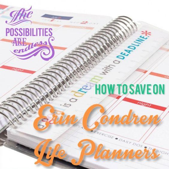 Erin Condren Life Planner Coupons - http://mommysplurge.com/erin-condren-life-planner-coupons-maximize/