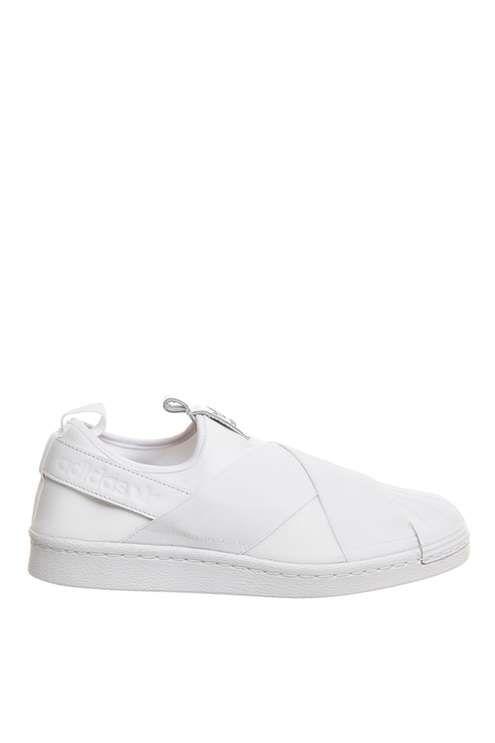 **Superstar Slip On Trainers by Adidas Originals