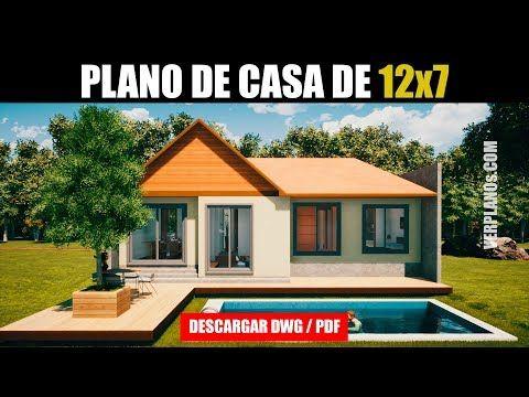 Planos De Casa Gratis 3 Dormitorios 1 Piso Dwg Pdf Youtube Planos De Casas Planos De Casas De Campo Imagenes De Casas