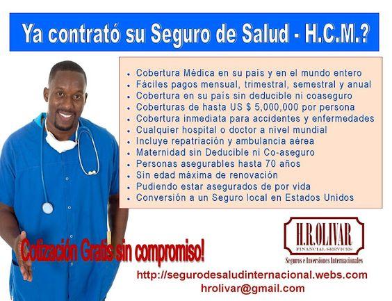 Seguros de Salud - H.C.M.
