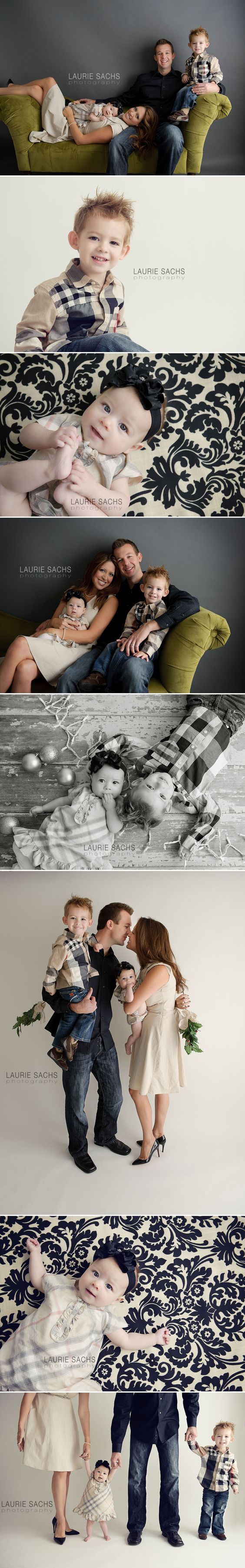 Family studio session done so well: Family Photography, Family Photos Studio Ideas, Christmas Shot, Family Studio Portrait, Photography Ideas