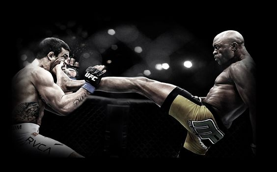 Anderson Silva knocks out Vitor Belfort on UFC 126