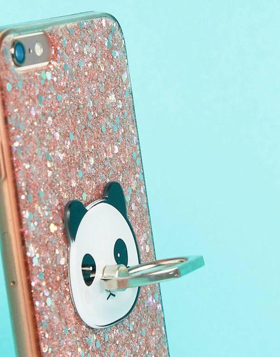 Typo - Anneau pour portable panda