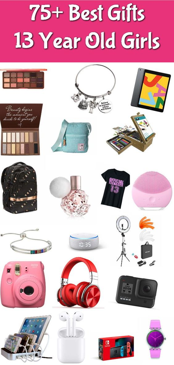 101 Best Gifts For 13 Year Old Girls 2020 Absolute Christmas Teenage Girl Gifts Christmas Birthday Gifts For Girls Cute Birthday Gift
