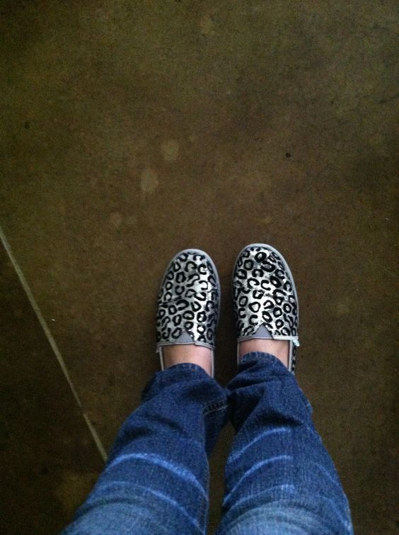 My new shoes I love them