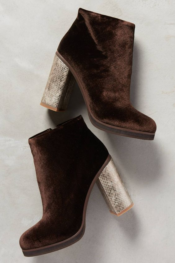 Cool Velvet Suede Boots