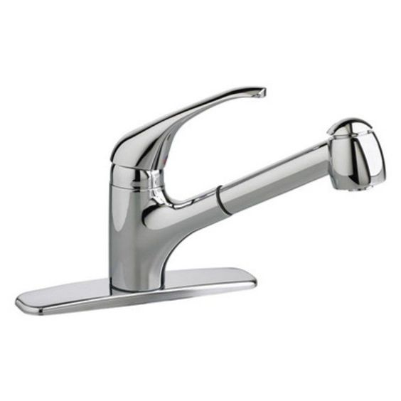 American Standard Reliant + 4205104 Single Handle Pull Out Kitchen Faucet - 920386