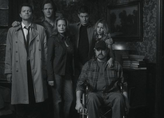 The Winchester Family - Supernatural... Scary Just Got Sexy!