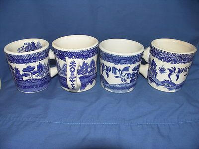 Image Result For Blue Willow Mugs