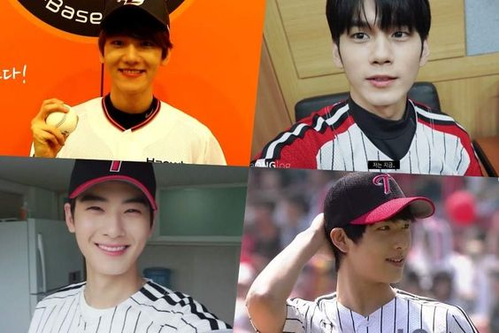 Male Idols Who Stole Our Hearts In Baseball Uniforms