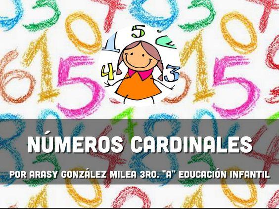 T.2 Números cardinales. Haiku deck