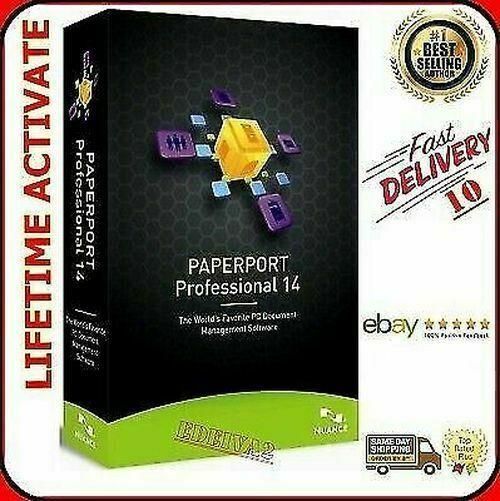 Nuance Paperport 14 5 Professional Full Version Lifetime Lisence Key Tech Hacks Lifetime Avid Pro Tools