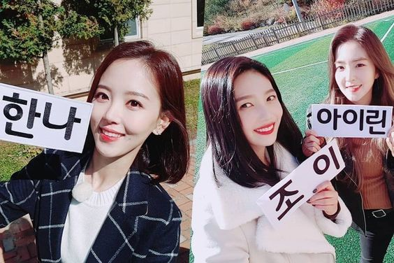 "Kang Han Na And Red Velvet's Irene + Joy To Have Fun With The Acrostic Poem Challenge In ""Running Man"""