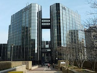 Chez St Gobain / Les Miroirs - where my dad worked in France