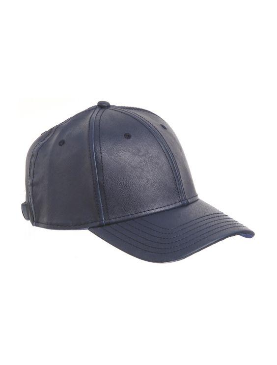 GENTS saffiano leather Rainmaker Hat :: Men | Scoop NYC