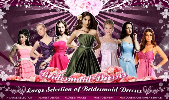 WIDE SELECTION OF BRIDESMAID DRESSES - site to consider?