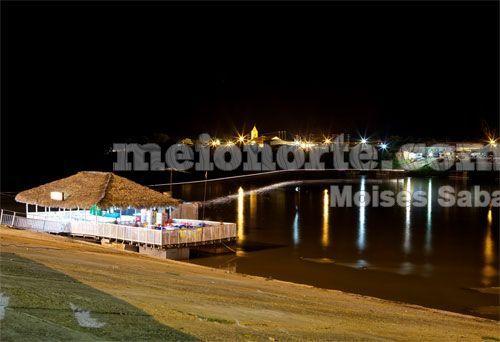 Beira Rio de Floriano fica na zona urbana, palco de Carnaval, mas tem imagens da vida selvagem