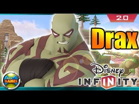 Disney Infinity 2.0 Drax Gameplay