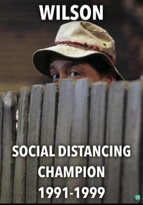 Tim Allen S Home Improvement Throwback Of Mr Wilson As Social Distancing Champion Draws In Social Media In 2020 Madea Funny Quotes Funny Picture Jokes Funny Quotes For Instagram