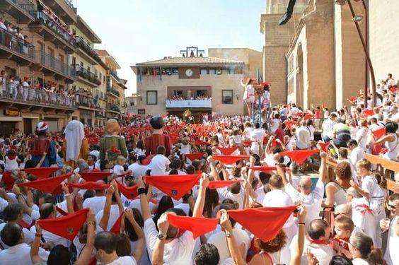 Txupinazo en Cascante (Navarra)