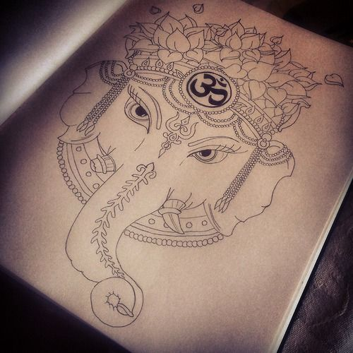 ganesh tattoo tumblr - photo #4