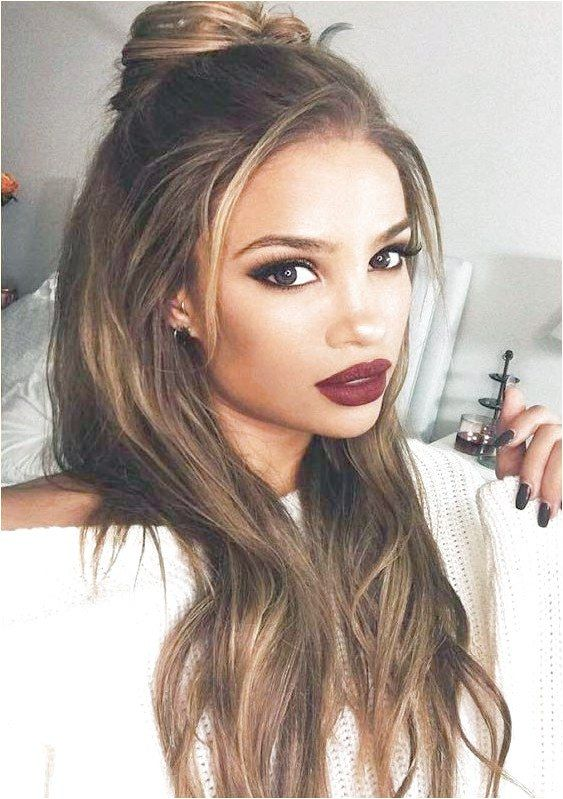 The Best Hairstyles For Long Hair With Top Know Bun To Wear On Special Occasions And Events You May Use These Long Hair Styles Hair Styles Medium Hair Styles