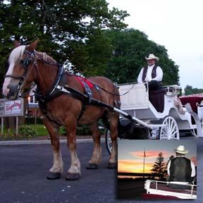 Mayberry's Carriages - Ephraim | Carriage Rides