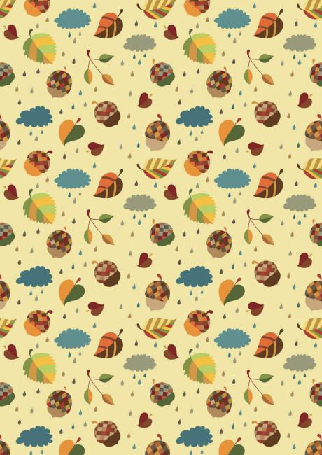 Birthday wrapping paper sheets woodland forest party
