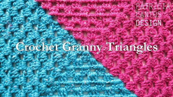 How to crochet a two-color granny square, with no cutting or rejoining of yarns.   . . . .   ღTrish W ~ http://www.pinterest.com/trishw/  . . . .